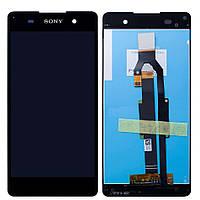 Дисплей (экран) для телефона Sony Xperia E5 F3311 + Touchscreen Original Black