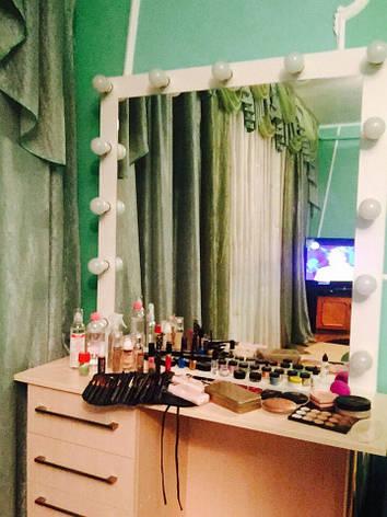 Большое макияжное, гримерное зеркало Модель Great_Mirror, фото 2