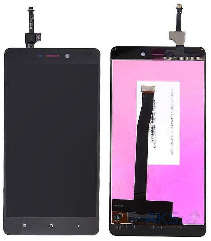 Дисплей (экран) для телефона Xiaomi Redmi 3, Redmi 3 Pro, Redmi 3S, Redmi 3S Prime, Redmi 3X + Touchscreen Original Black