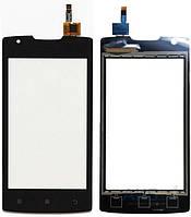 Сенсор (тачскрин) для Lenovo A1000 Black