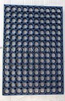 "Резиновый коврик ""сота"" 60 см х 40 см х 2.2 см производство Украина"