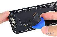 Шлейф для Apple iPhone 7 с разъемом зарядки / гарнитуры и микрофоном Original Black