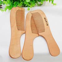 Натуральная расческа для волос деревянная