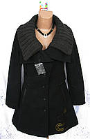Новое стильное демисезонное пальто с вышивкой DESIGUAL полиэстер шерсть акрил М 46-48 C48N