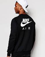 Мужской СВИТШОТ Nike Air (Свитер Найк Аир Черный) Black 🔥