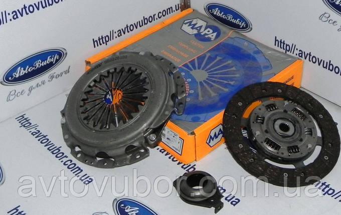 Комплект сцепления 1.6 1.6i 1.6i16V 1.8 1.8i16V Ford Fiesta 89-95, фото 2