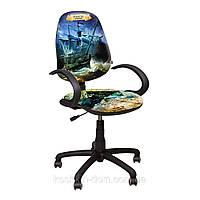 Компьютерное Кресло Поло 50/АМФ-5 Дизайн №1 Пираты