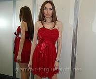 Платье Trixxi вишневый блеск (XS/S/M)