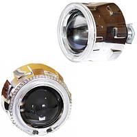 """Би-линзы Guarand G5 2.5"""" с «ангельскими глазками» H1 CCFL 90 мм"""