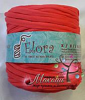 Пряжа для вязания ковриков, 700 г, коралл