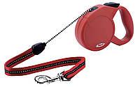 Flexi (Флекси) Рулетка для собак и кошек Classic, красная S1 5м*12кг