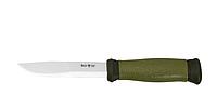 Рыбацкий нож Мора, с пластиковым чехлом