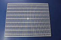 Разделительная решетка 470х375 на 10-ти рамочный улей белая