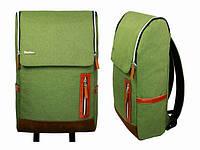 Сумка рюкзак мужская зеленая