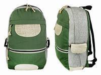Рюкзак мужской из натуральной ткани