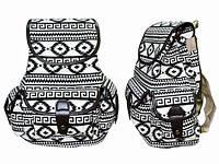 Сумка рюкзак женская с орнаментом Скандинавия