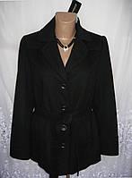 Новое стильное демисезонное пальто MARK ADAM NEW YORK полиэстер шерсть L 50-52 C50N