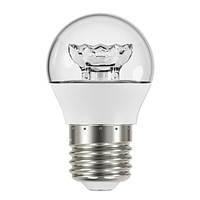 Лампа светодиодная G45 OSRAM 5.4W 3000K E27 LED Star CLP40 WW 220-240V CL E27 10X1 Шарик прозрачный