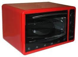 Духовка электрическая настольная Asel 40л AF-0123 красная