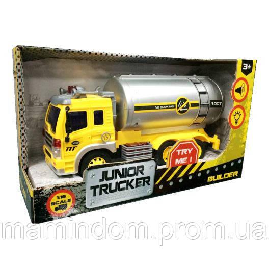 Автоцистерна Junior Trucker Dave Toy  - Мамин Дом - mamindom.ua в Киеве