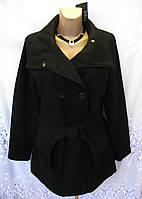 Новое демисезонное пальто EVEN&ODD полиэстер шерсть L 50-52 C51N