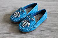 Детские туфли с украшениями