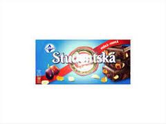 Шоколад ORION Studentska Pecet горький (черный) желе, арахис, изюмом, 180 г  (Чехия)