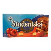 Шоколад ORION Studentska Pecet молочный  желе, арахис, вишня, 180 г  (Чехия)