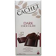 Шоколад черный Cachet Dark 57%, 100 г (Бельгия)