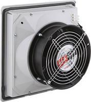Вентилятор с решеткой  с фильтром 260х260 IP54 в  щит ящик шкаф
