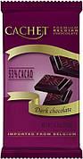 Шоколад черный Cachet Extra Dark 53%, 300 г (Бельгия)