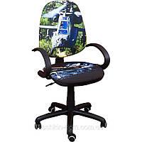 Компьютерное Кресло Поло 50/АМФ-5 Дизайн №17 Вертолет