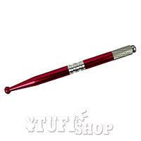 Ручка для татуажа, красный