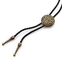 Древний Bow Tie House китайский дракон (галстук шнурок бола) - медный цвет 08882