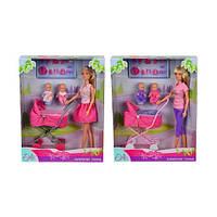 Кукольный набор Штеффи с коляской Steffi & Evi Love