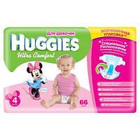 Подгузники Huggies Ultra Comfort 4 (8-14 кг), 66 шт