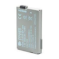 Аккумулятор к фото/видео PowerPlant Canon BP-208 (DV00DV1075)
