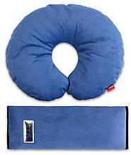 Аксессуары для автокресел «Eternal Shield» (4601234567879) комплект дорожный для сна (синий)