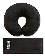 Аксессуары для автокресел «Eternal Shield» (4601234567862) комплект дорожный для сна (черный)