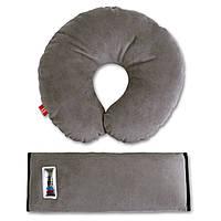 Аксессуары для автокресел «Eternal Shield» (4601234567831) комплект дорожный для сна (серый)