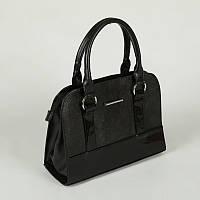 Черная сумка прямоугольная классика небольшая