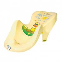 Горка для купания ребёнка Balbinka Tega Baby, желтая