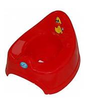 Горшок детский музыкальный Balbinka PO-019 Tega Baby, красный