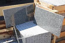 Серая гранитная плитка полированная