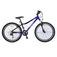 Спортивный велосипед с 21 скоростью PROFI - LINERS XM261 (сине-черный) оптом и в розницу