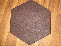 Спортивная резиновая плитка 470х470х20 мм
