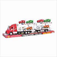 Детская игрушка Трейлер 318-5 инерционный