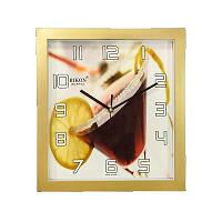 Часы настенные Rikon 10651 PIC Golden Flower