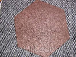 Покриття для дитячих майданчиків 470х470х25 мм