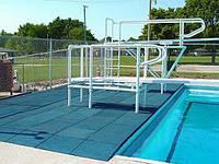 Резиновое покрытие вокруг бассейнов 12 мм